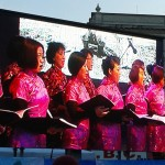 UK Chinese Choir Chinese Labour Corps Trafalgar Square Chinese New Year 2016